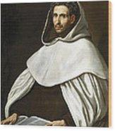 Portrait Of A Carmelite Wood Print