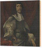 Portrait Of A Man, Thought To Be Christoffel Van Gangelt Wood Print