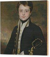 Portrait Of A Midshipman Wood Print