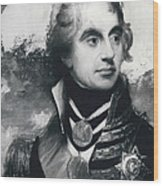 �portrait Of A Naval Officer� Sketch Discovered To Be Of Wood Print