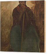 Portrait Of A Negress Wood Print