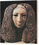Portrait Of A Princess. 1991 Bc Wood Print