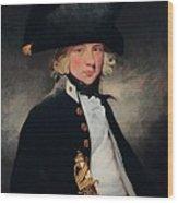 Portrait Of A Young Midshipman, C.1796 Wood Print
