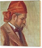 Portrait Of Ambroise Vollard 1868-1939 Oil On Panel Wood Print