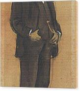 Portrait Of Arcadi Mas I Fondevila Wood Print