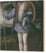 Portrait Of Captain Thomas Lee Wood Print