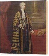 Portrait Of Colonel Sir Samuel Wilson, Lord Mayor Of London, 1838 Oil On Canvas Wood Print