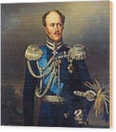 Portrait Of Count Alexander Benkendorff Wood Print