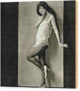 Portrait Of Dancer Ann Pennington Wood Print