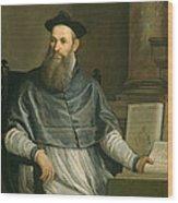 Portrait Of Daniele Barbaro Wood Print