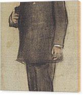 Portrait Of Emili Vilanova Wood Print