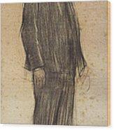 Portrait Of Enric Morera Wood Print