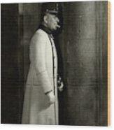 Portrait Of Erich Von Stroheim Wood Print