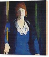 Portrait Of Florence Pierce Wood Print