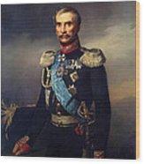 Portrait Of Illarion Vasilyevich Vasilchikov Wood Print