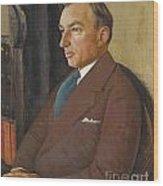 Portrait Of Isidor Polivnick Wood Print