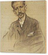Portrait Of Jacinto Octavio Picon Wood Print