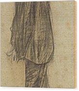Portrait Of Joan Gay  Wood Print