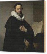 Portrait Of John Wtenbogaert Wood Print