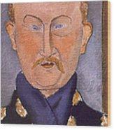 Portrait Of Leon Bakst Wood Print