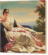Portrait Of Leonilla Wood Print