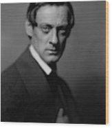 Portrait Of Lionel Barrymore Wood Print