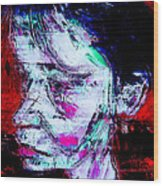Portrait Of Marion 2 Wood Print
