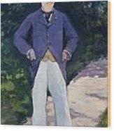 Portrait Of Monsieur Brun Wood Print