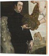 Portrait Of Ottavio Strada Wood Print