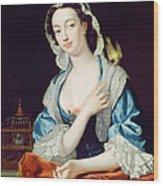 Portrait Of Peg Woffington Wood Print