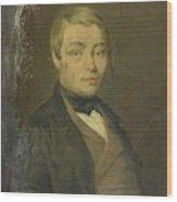 Portrait Of Rudolf Johannes Van Den Brink Wood Print