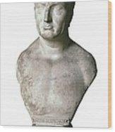Portrait Of Scipio Africanus. 17th C Wood Print