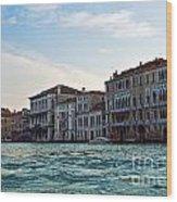 Portrait Of Venice Wood Print