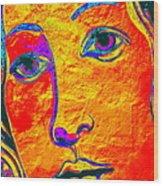 Portrait Of Venus Wood Print