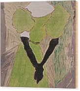 Portrait Of Yvette Guilbert Wood Print