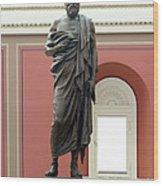 Portrait Statue Of Plato By John Joseph Wood Print