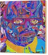 Portraiture Of Passion V2 Wood Print