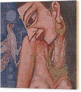 Portraiyal -ix Wood Print
