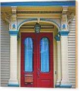 Portsmouth Door 7 Wood Print