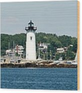 Portsmouth Nh Harbor Wood Print