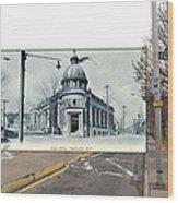 Post Office In Pawtucket Rhode Island Wood Print