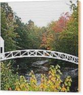 Postcard Idyll Wood Print
