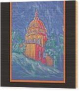 Poster - The Basilica Wood Print by Marcia Meade