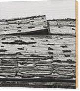 Poston Two Wood Print