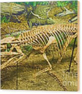 Postosuchus Fossil Wood Print