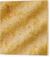 Potato Chip Macro 2 Wood Print