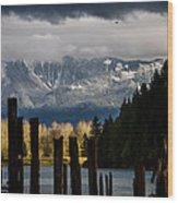 Potential - Landscape Photography Wood Print