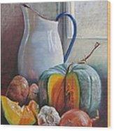 Potential Pumpkin Soup Wood Print