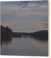 Potomac River At Whites Ferry Wood Print