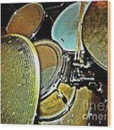 Pots N Pans Wood Print